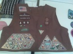 Front of Brownie Vest